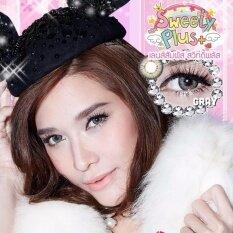 ราคา Sweety Plus Soft Lens Make Up Color Puffy Grey ซอฟต์เลนส์ คอนแทคเลนส์สี เมคอัพ เปลี่ยนสีตา พร้อมตลับแช่เลนส์ ใหม่