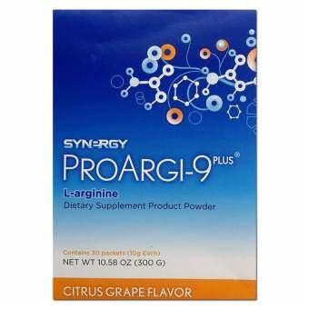 SYNERGY Proargi-9 plus โปร์อาร์จิไนน์ พลัส ผลิตภัณฑ์ขับล้างสารพิษ ชนิดกล่องบรรจุ 30 ซอง-