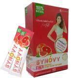 ซื้อ Synovy Fiber Detox ซินโนวี่ ไฟเบอร์ ดีท็อกซ์ อาหารเสริมควบคุมน้ำหนัก อาหารเสริมชงดื่มล้างสารพิษในร่างกาย กล่องละ 7 ซอง ถูก