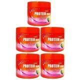 ราคา Tantawan Hair Fall Control Protein Cream With Egg And Seaweed บำรุงเส้นผมสูตรล้างขจัดมลพิษ 300G 5ชิ้น Tantawan ไทย