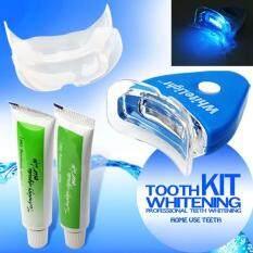 ราคา Teeth Whitening Whitener Full Kit 2 Gel Delivery From Thailand เป็นต้นฉบับ Whitelight
