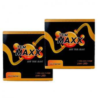 Temmaxx for play ผลิตภัณฑ์เสริมอาหารสำหรับท่านชาย ขนาดพกพา 2 capsule x2