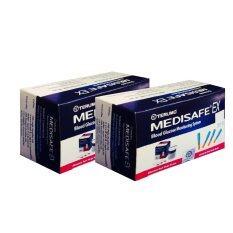 ราคา Terumo Medisafe Ex แผ่นตรวจน้ำตาลพร้อมเข็มเจาะเลือด อย่างละ 30 ชิ้น 2 กล่อง ใน กรุงเทพมหานคร
