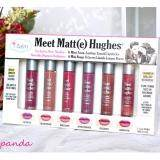โปรโมชั่น The Balm Meet Matte Hughes 6 Mini Long Lasting Liquid Lipstick Set สีใหม่ ใน Thailand