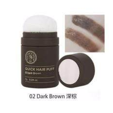 The Face Shop Quick Hair Puff 7g. 02 Dark Brown.