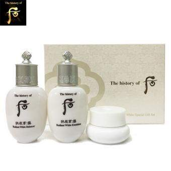 The History Of Whoo GongJinHyang Seol  Whitening care Special Gift Set 3 ชิ้น แก้ปัญหา ฝ้า กระ จุดด่างดำ