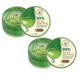 The Saem Jeju Aloe Fresh Soothing Gel 300 Ml 2 กระปุก เป็นต้นฉบับ