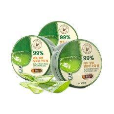 Hot Deal เจลว่านหางจระเข้ The Saem Jeju Fresh Aloe Soothing Gel 99 Pack 3 กระปุก กรุงเทพมหานคร