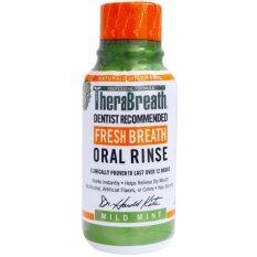 ราคา Therabreath Fresh Breath Oral Rinse Mild Mint Flavor 88 7 Ml น้ำยาบ้วนปากกลิ่นมิ้นท์ Therabreath เป็นต้นฉบับ