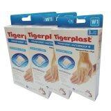 ราคา Tigerplast Transparent Waterproof พลาสเตอร์ใสกันน้ำ ขนาด60มม X70มม รุ่นW1 3 กล่อง 1กล่องมี3แผ่น ใหม่ ถูก