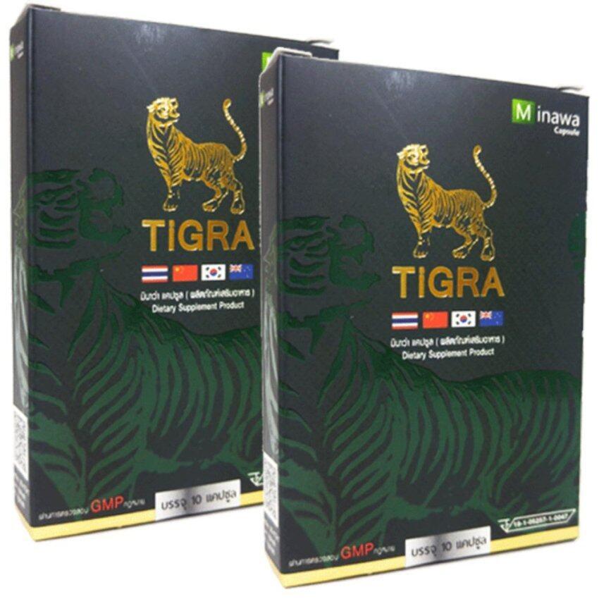 TiGra Minawa ไทกร้า มินาว่า 10 แคปซูล x 2 กล่อง