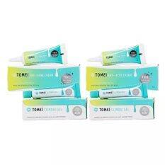 ขาย Tomei Anti Acne Cream ขนาด 5 กรัม 2หลอด Tomei Clindai Gel ขนาด 5 กรัม 2หลอด Tomei ใน กรุงเทพมหานคร