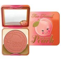 ราคา Too Faced Papa Don T Peach Blush Too Faced เป็นต้นฉบับ