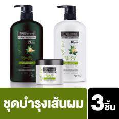 Tresemme Salon Detox & Nourish Shampoo 450 ml. + Conditioner 450 ml.+ Treatment 180 ml.