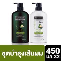 ทบทวน Tresemme Salon Detox Shampoo 450Ml Conditioner 450 Ml Tresemme