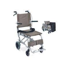 ราคา Triple Y รถเข็นผู้ป่วยพับได้ Mini รุ่น Y802 สีน้ำตาล ครีม Free กระเป๋าใส่เดินทาง มูลค่า 500 เป็นต้นฉบับ