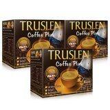ขาย Truslen Coffee Plus กาแฟสร้างมวลกล้ามเนื้อ 2 กล่องฟรี 1 กล่อง Truslen ถูก