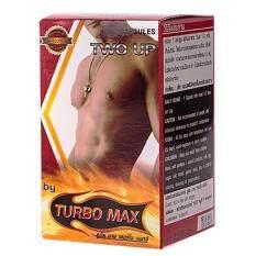 ราคา Turbo Max อาหารเสริมสมรรถภาพ เพิ่มขนาด สำหรับผู้ชาย 60 แคปซูล เป็นต้นฉบับ Turbo Max