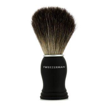 Tweezerman แปรงโกนหนวด Deluxe