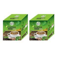 ราคา ๊umb Sacha Inchi Coffee Mix กาแฟถั่วดาวอินคา รสกลมกล่อม ชนิดกล่อง 12 ซอง 2 กล่อง