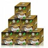 ซื้อ Umb Sacha Inchi Coffee Mix Double X2 กาแฟถั่วดาวอินคา รสเข้มข้น ชนิดกล่อง 12 ซอง 6 กล่อง Umb ออนไลน์