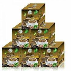 ราคา Umb Sacha Inchi Coffee Mix Double X2 กาแฟถั่วดาวอินคา รสเข้มข้น ชนิดกล่อง 12 ซอง 6 กล่อง ถูก