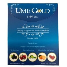ขาย Ume Gold ยูมีโกลด์ ยอดขายอันดับ1ในเกาหลี เห็นผลภายใน 5 นาที 1 กล่อง 10ซอง พิเศษ 1 ซอง Ume Gold เป็นต้นฉบับ