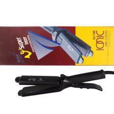 ขาย V Super Inter Ionic Hair Flatter Su 186 เครื่องหนีบผม สีดำ ใหม่