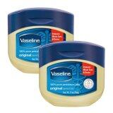 ทบทวน Vaseline 100 Pure Petroleum Jelly Original 368G 2 กระปุก Vaseline