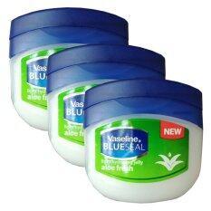 Vaseline Blueseal Light Hydrating Jelly Aloe Fresh 100Ml 3 กระปุก ใหม่ล่าสุด