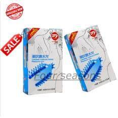ซื้อ Black Kingkong ถุงยางอนามัยชนิดปุ่มยาว กระตุ้นความรู้สึก 2กล่อง สีฟ้า ใหม่