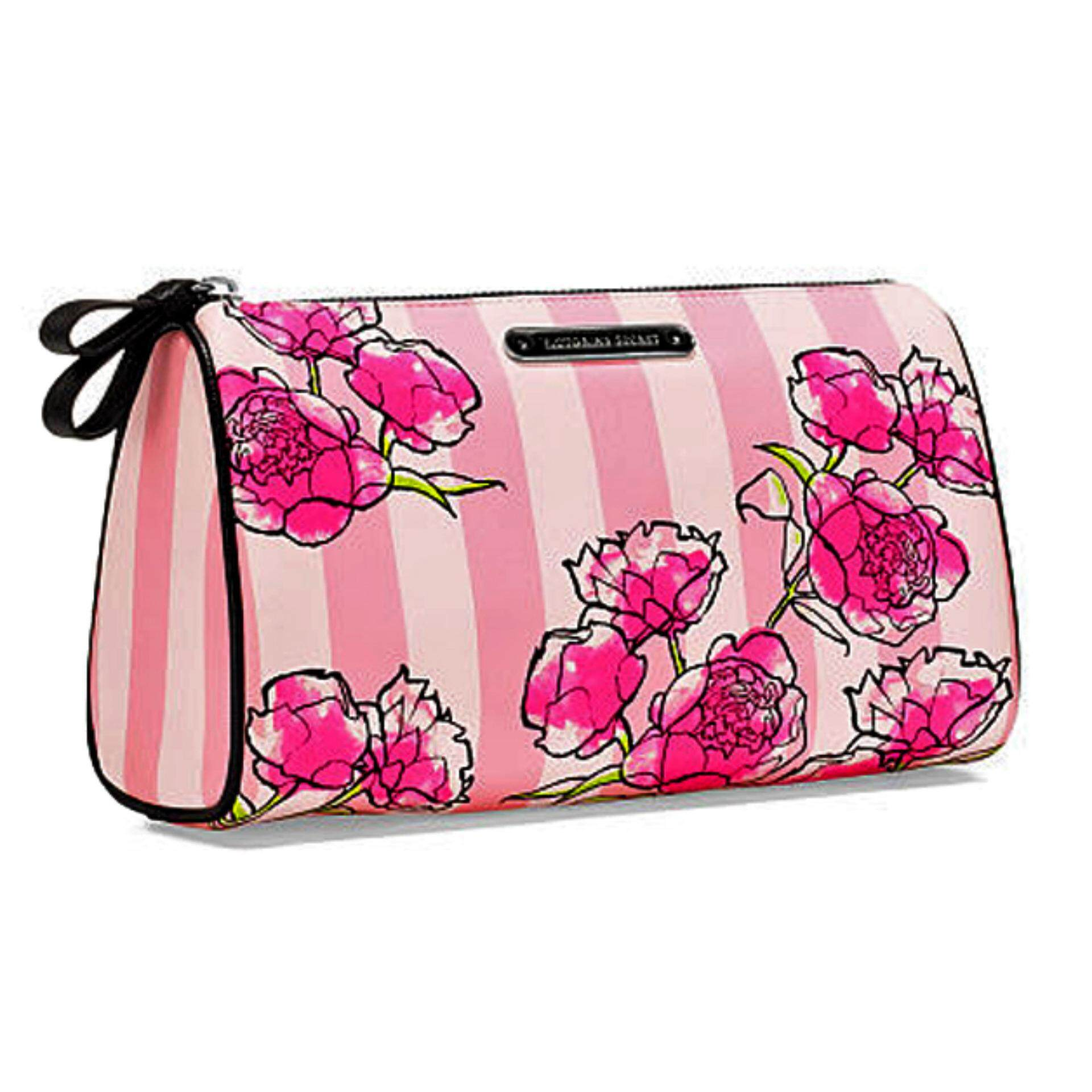 Victoria's Secret XO Victoria Floral Cosmetic Bag