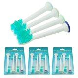 Vinmax 12Pcs Electric Toothbrushes Heads Replacement Brush Heads For Hx6014 Toothbrush Green) Intl เป็นต้นฉบับ