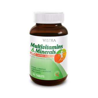VISTRA Multivitamins & Minerals Amino (50 Tablets)