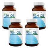 ซื้อ Vistra Salmon Fish Oil 75 Tablets วิสทร้า น้ำมันปลาแซลมอน 75 เม็ด X 4 ขวด Vistra ออนไลน์