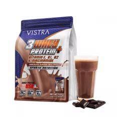 ราคา Vistra Sport 3 Whey Protein เสริมสร้างกล้ามเนื้อกลิ่นช๊อกโกแลต 525G ใน กรุงเทพมหานคร