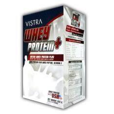ความคิดเห็น Vistra Whey Protein Plus วิสทร้า ผลิตภัณฑ์เสริมอาหาร นมเวย์โปรตีน รสวานิลลา 15 ซอง 1 กล่อง