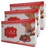 ราคา Viviผลิตภัณฑ์เสริมอาหารคอลวีว่า วีวี่ เพิ่มการเผาผลาญ และลดน้ำหนัก บรรจุ10ซอง 3กล่อง ใน กรุงเทพมหานคร