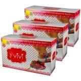 ขาย Vivi Gluta Pink Plus คอลวีว่า วีวี่ ซูปเปอร์สลิม กลูต้า พิงค์ พลัส 3 กล่อง 10 ซอง กล่อง ออนไลน์ ใน กรุงเทพมหานคร