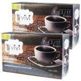 ซื้อ Vivi J Class Coffee Espresso วีวี่ เจ คลาส คอฟฟี่ กาแฟปรุงสำเร็จ ชนิดผง สำหรับลดน้ำหนัก สูตรเร่งการเผาผลาญ ขนาด 10 ซอง 2 กล่อง ถูก