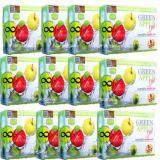 ซื้อ Vivi Krishy Boom Green Apple Diat บรรจุ 10 ซอง 12 กล่อง วีวี่ คริชชี่ บูม แอลคาร์นิทีน แอปเปิ้ล พลัส อาหารเสริมควบคุมน้ำหนัก เร่งการเผาผลาญ ผิวขาวกระจ่างใส ขนาด 10 ซอง Vivi
