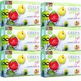 ขาย Vivi Krishy Boom Green Apple Diat บรรขุ 10 ซอง 6 กล่อง วีวี่ คริชชี่ บูม แอลคาร์นิทีน แอปเปิ้ล พลัส อาหารเสริมควบคุมน้ำหนัก เร่งการเผาผลาญ ผิวขาวกระจ่างใส