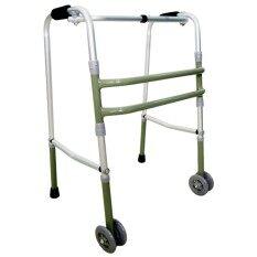 ขาย Walker Plus วอล์คเกอร์ อุปกรณ์ช่วยเดิน เครื่องหัดเดิน ช่วยพยุง พับได้ ปรับความสูงได้ มีล้อ ใน กรุงเทพมหานคร