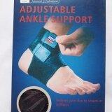 Wbs สายรัดข้อเท้า ปรับสายได้ ป้องกัน ลด อาการบาดเจ็บ บริเวณข้อเท้า ขณะเล่นกีฬา เดิน วิ่ง สีดำ ใน กรุงเทพมหานคร