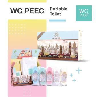 WC PEEC ห้องน้ำในรถ by WC Plus+ ถุงฉี่ ถุงปัสสาวะ บนรถ (2 กล่อง)