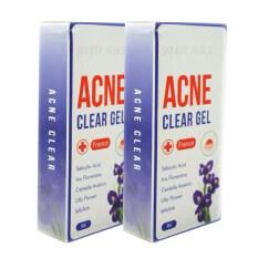ซื้อ White Aura Acne Clear Gelครีมสยบสิว สิวผด สิวผื่น สิวอักเสบ 2กล่อง ถูก ใน ไทย