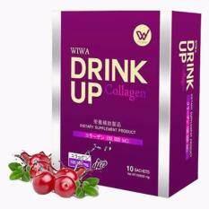 ส่วนลด สินค้า Wiwa Drink Up Collagen วีว่าคอลลาเจน 100 000Mg สลายฝ้า เกรดพรีเมี่ยม จากญี่ปุ่น 1 กล่อง 10 ซอง กล่อง