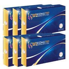 ขาย ซื้อ ออนไลน์ Wl Kionu 789 อาหารเสริมบล็อกไขมัน 10 Capsules 6 กล่อง