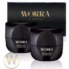 ขาย Worra By Woranuch ครีมนุ่น วรนุช วอร์ร่า บาย วรนุช ไบรท์เทนนิ่ง เดย์ แอนด์ โอเวอร์ไนท์ ครีม Brightening Day Overnight Cream 30Ml 2 กระปุก ใหม่