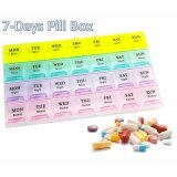 ราคา Wow ตลับใส่ยา 7 วัน แบ่งเป็น 4 ช่องในแต่ละวัน 7 Days Pill Box 28 Slots Unbranded Generic
